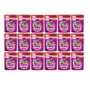 Whiskas Sachê Para Gatos Filhotes Sabor Carne - Alimento úmido para gatos Filhotes caixa 18 unidades de 85g