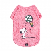 Roupinha para cães - Camiseta para cachorro Snoopy Wood Balloon ZooZ Pets G