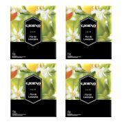 Sachê Aromatizador De Ambiente Flor de Laranjeira - Sachê perfumado ambiente, gaveta, armário Giorno 15g - Kit com 4