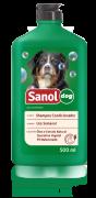 Shampoo com condicionador para Cachorro Sanol 2 em 1 500ml