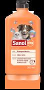 Shampoo Neutro para cachorro - Shampoo para pele e pelos delicados Sanol Dog Neutro 500ml