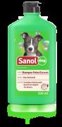 Shampoo para cães pêlos escuros Sanol 500ml