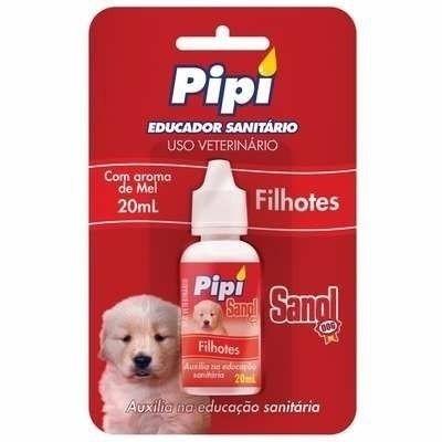 Educador Sanitário Pipi Dog Pode Sanol ( Atrativo Xixi Sim ) 20ml