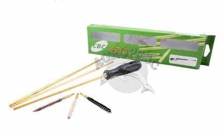 Kit Limpeza Cbc Nitro Six 6mm + Oleo Corrosionx + Chumbinho