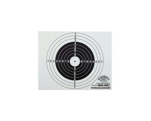 Alvo De Papel 18x14cm Para Coletor Cbc 1.000 Unidades
