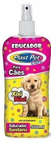 Educadores Sanitários para cães e gatos: Xixi sim + Xixi Não + Talco Limpa e Seca Xixi