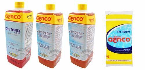 Combo 2 Inibidor De Mancha Genquest + 1 Ph Mais + 1 Ph Certo Genco