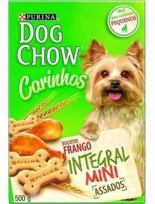 Biscoito Para Cachorro Integral Purina Dogchow 500g Mini