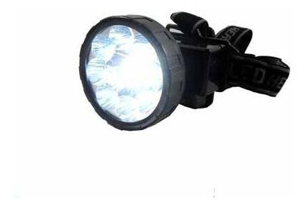 Combo 13 Lanternas De Cabeça Eco-lux Led Km-162