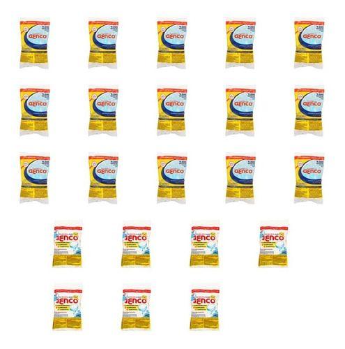 Combo 15 Tabletes de cloro para piscina T-200,  7 Tabletes de cloro 3 Em 1 Genco