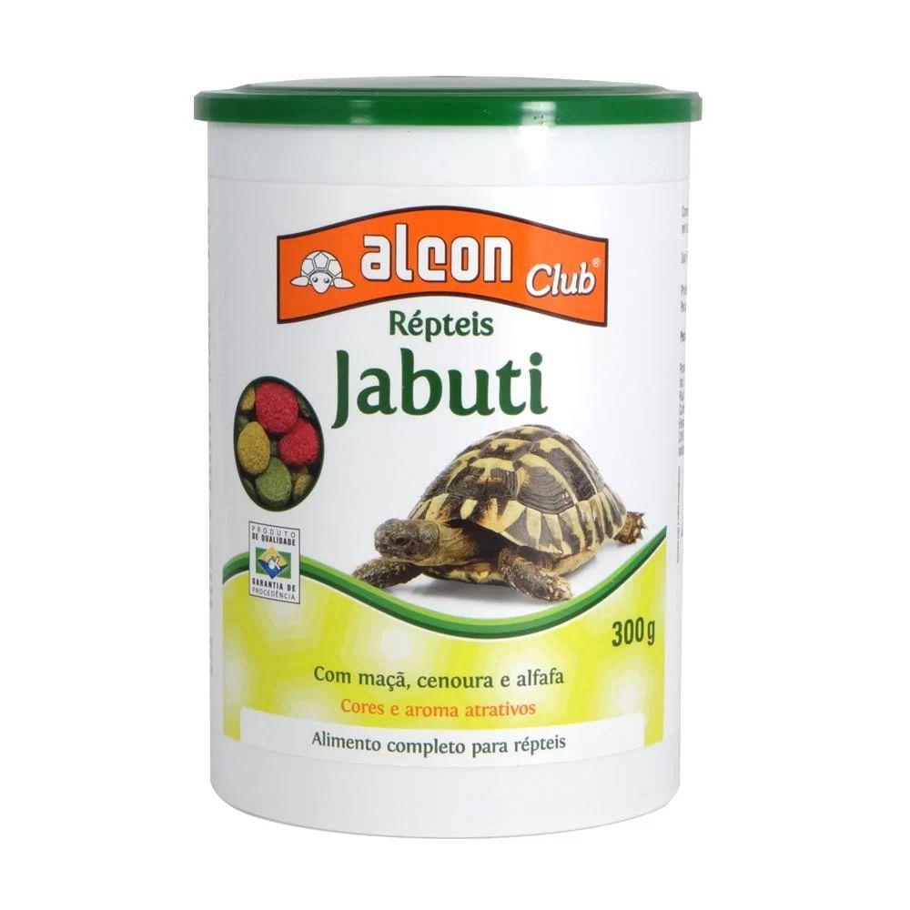 Alimento completo para répteis: Ração para Tartarugas Jabuti com maçã, cenoura e alfafa Alcon 300g - Comida de tartaruga Jabuti