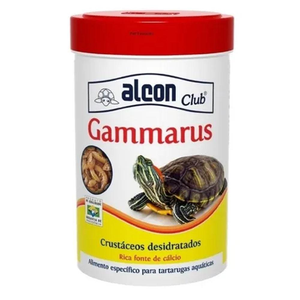Alimento para Tartarugas Camarão Desidratado Para Tartarugas Gammarus Alcon 11g