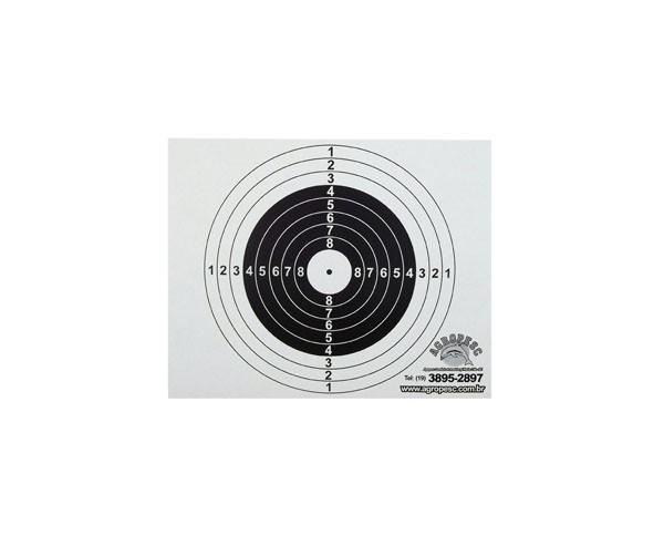 Alvo de papel para Coletor - 100 unidades
