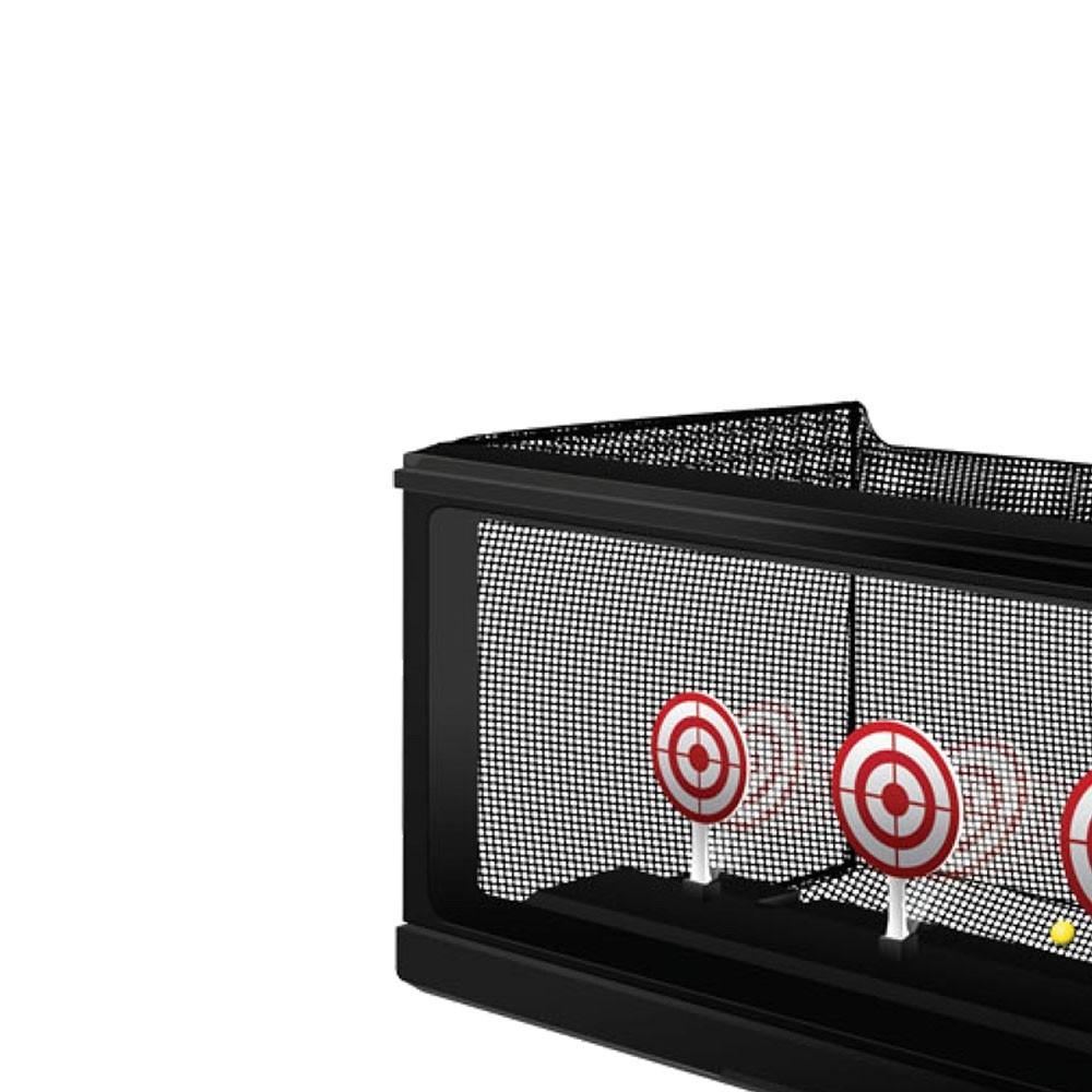 Alvo automático para Airsoft tiro ao alvo com coletor de bolinhas Crosman Automático