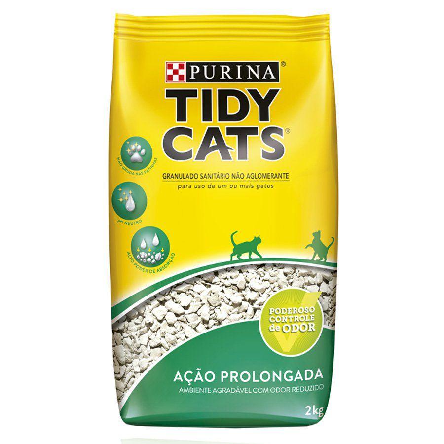 Areia Sanitária Higiênica para gatos Super premium Purina Tidy Cats 2kg