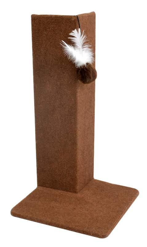 Protetor de móveis com Arranhador de canto para gatos Corner marrom - Arranhador para canto de móveis, sofá
