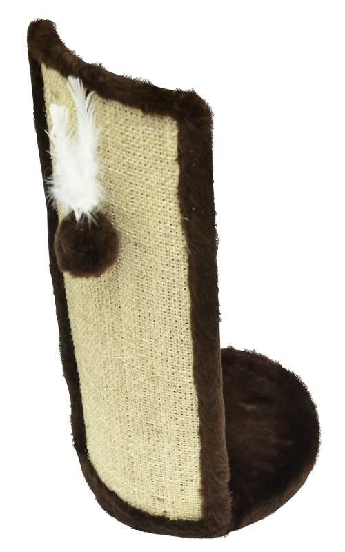 Protetor de sofá para arranhões de gatos - Arranhador de gato para canto de móveis Kino marrom 25x58cm