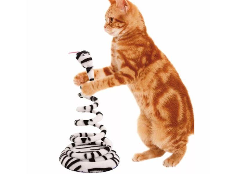 Caixa de Areia de gato com pá coletora Pet Flex Rosa + Brinquedo João Bobo Branco Gatos Chalesco