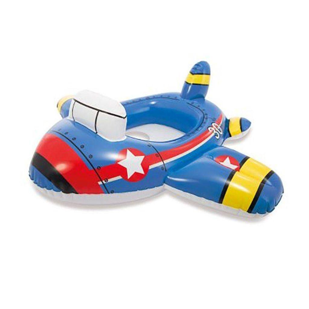 Boia com assento Baby Kiddie Intex Bombeiro Polícia ou Avião 15kg