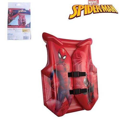 Boia infantil Colete Inflável para crianças Homem Aranha - Spider Man Marvel 56x41cm