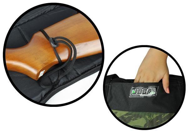 Bolsa protetora de espingarda Capa para carabina Jogá Preta 1,20 Mts