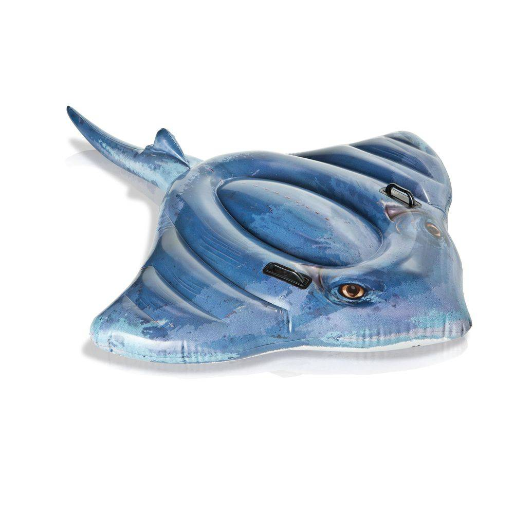 Colchão para piscina Bote inflável Arraia Intex
