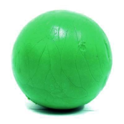 Brinquedo Bola Para Cães Borracha Maciça 80mm