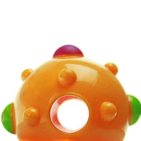 Bolinha de cachorro para colocar petisco e ração Petstages Bumpy Ball Bolinha porta petisco