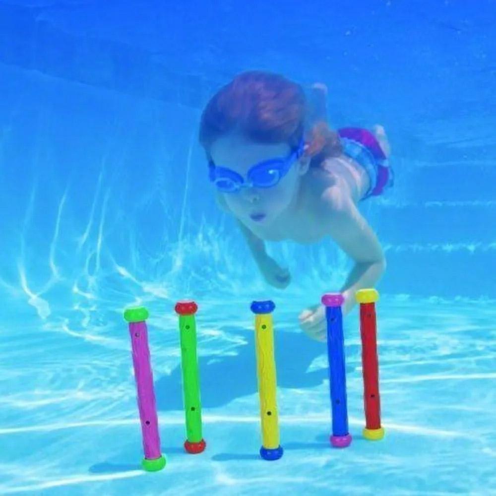 Brinquedo para piscina: caça bastão brinquedo de mergulho Intex