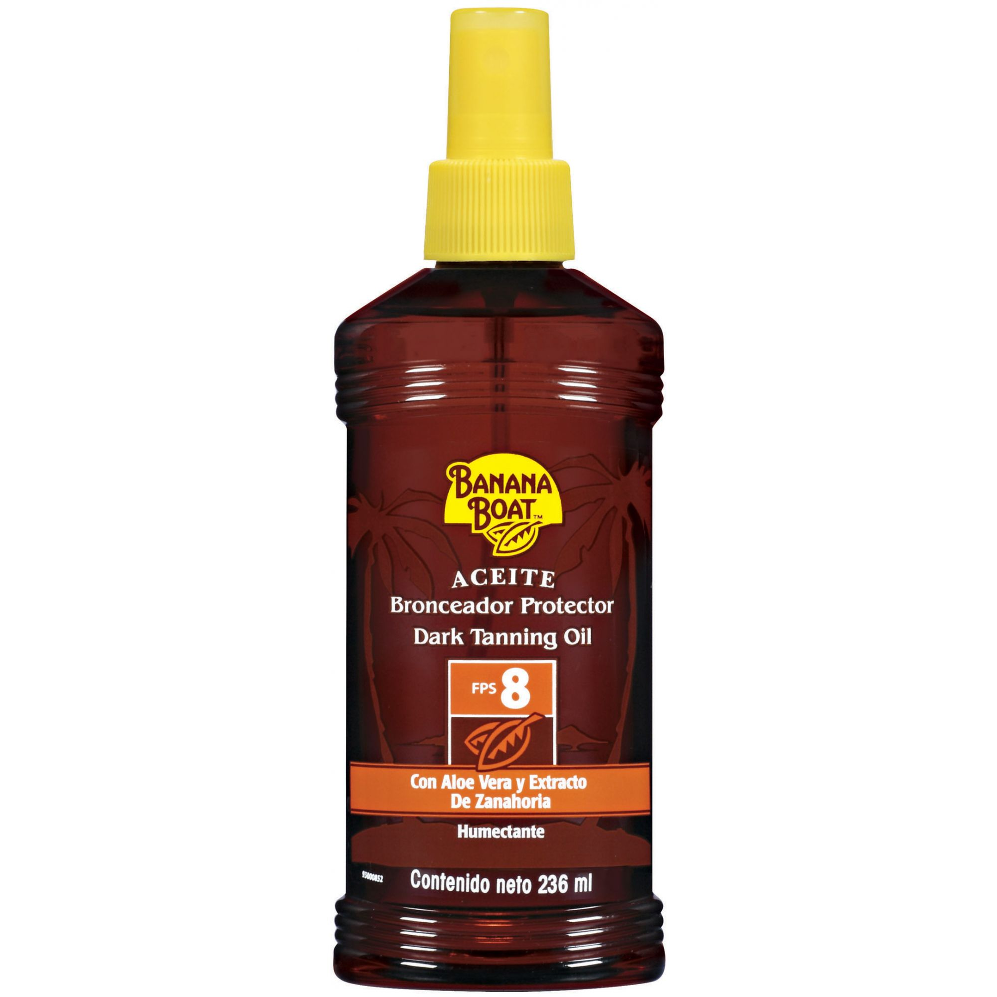 Bronzeador Protetor solar 8 fps Banana Boat Spray 236ml