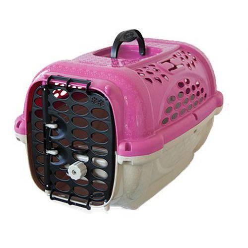 Caixa De Transporte Cachorro E Gato Panther Nº1