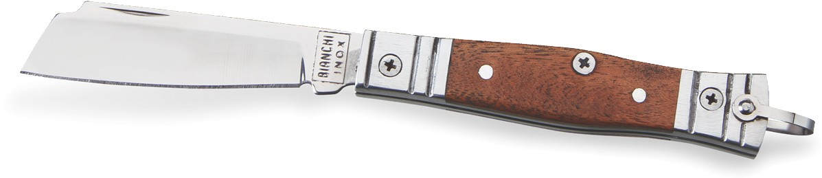 Canivete Bianchi tradicional Aluminio/Madeira 3
