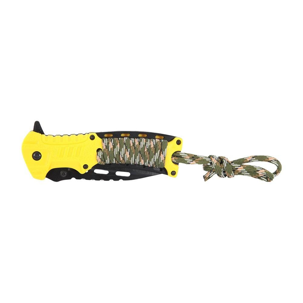 Canivete de Sobrevivência Azteq Xisco - Possui Iniciador de fogo (Pederneira), Apito, Clip fixação