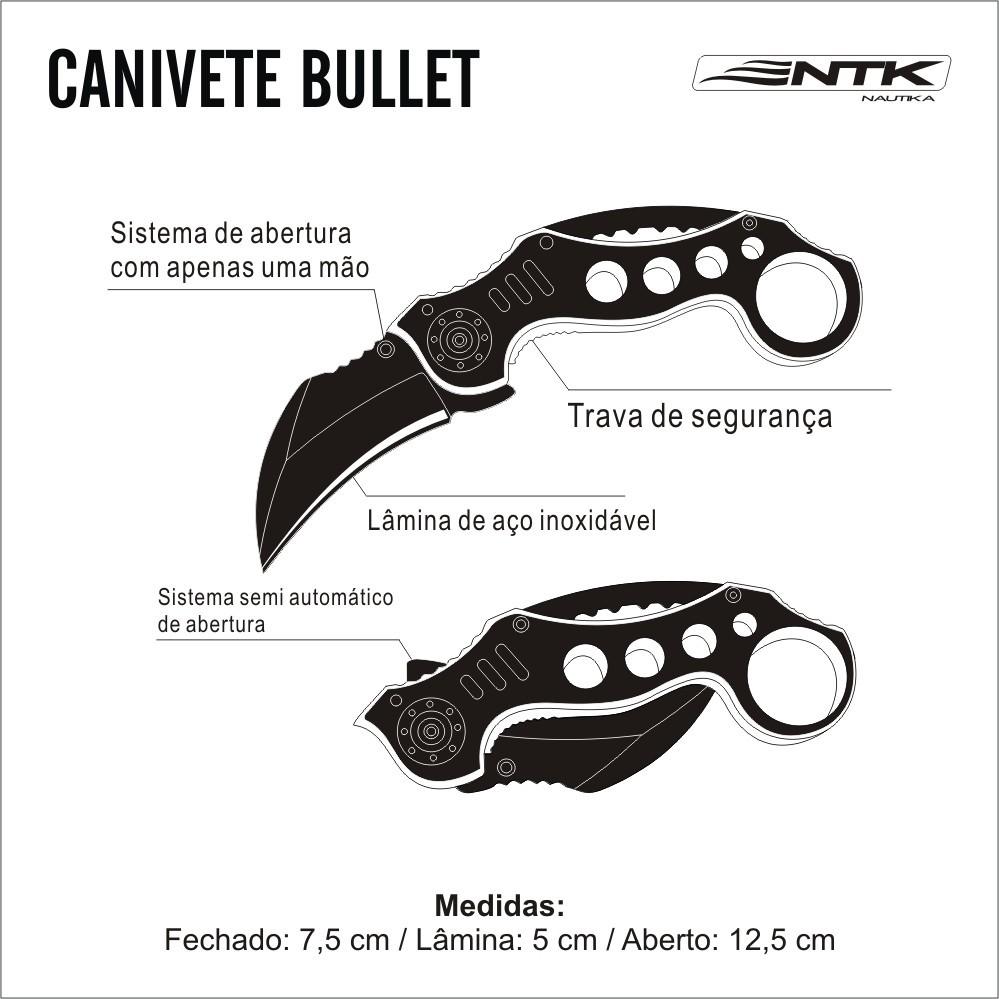 Canivete Bullet NTK