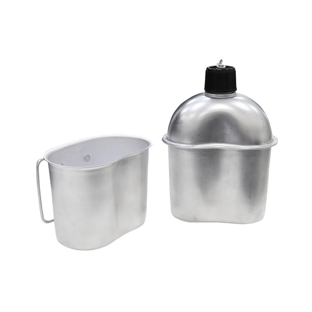 Cantil de Alumínio com Caneca embutida Nautika Xepa 0,9L