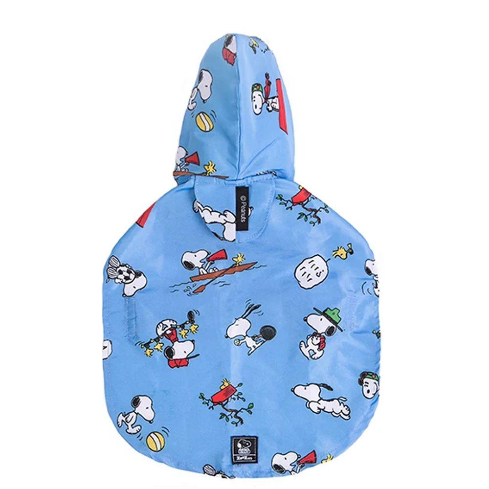 Capa de Chuva para cachorro: Capa protetora para chuva cães Zooz Pets Snoopy Tam M: 50cm x 47cm
