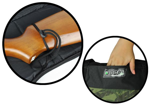 Bolsa de transporte de espingarda - Capa para carabina Jogá 1,30 Mts