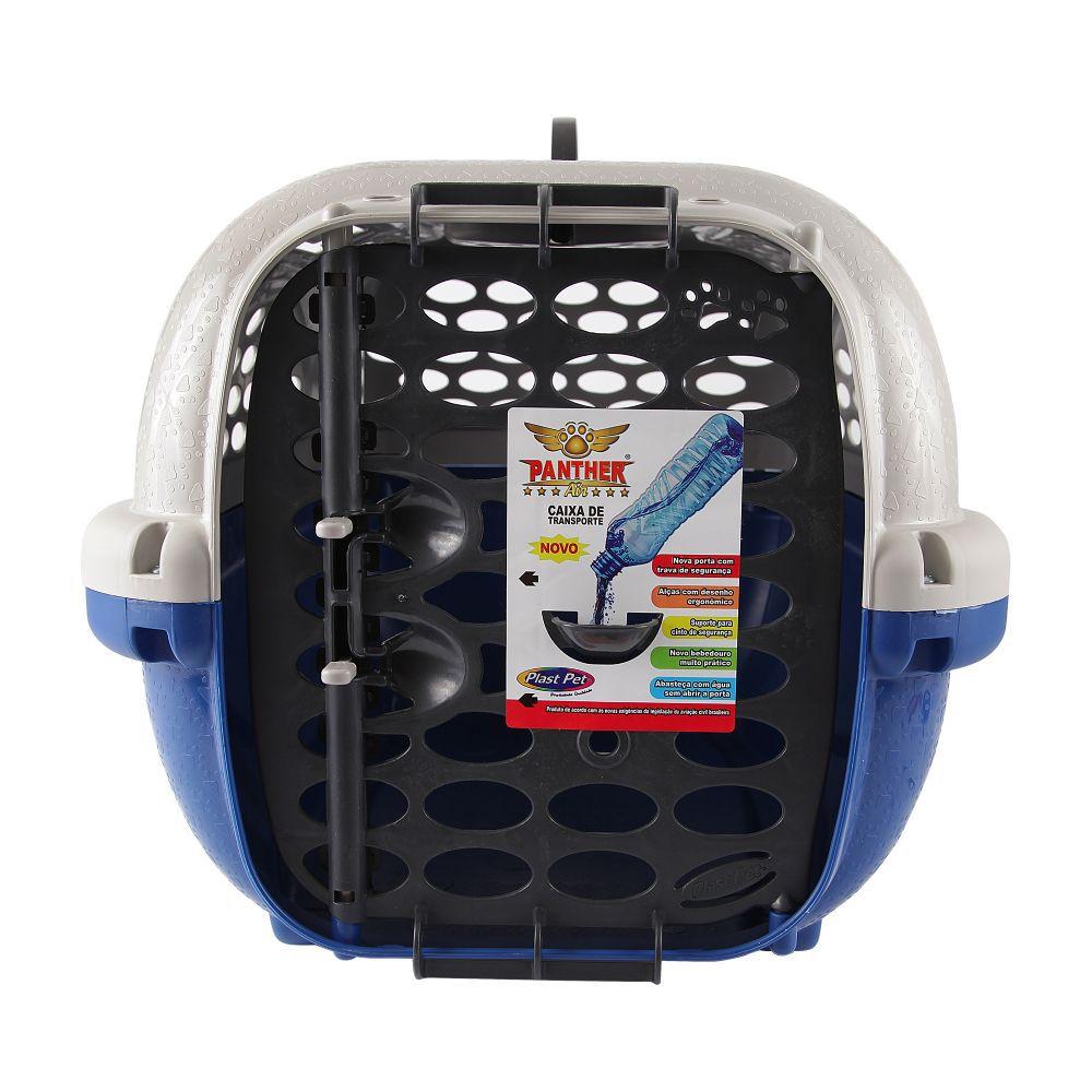 Casinha Caixa De Transporte Para Cães E Gatos Panther N° 4 Azul