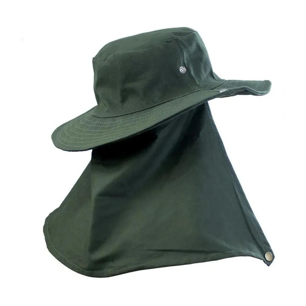 Chapeu com proteção Pescador Safari Jogá Verde