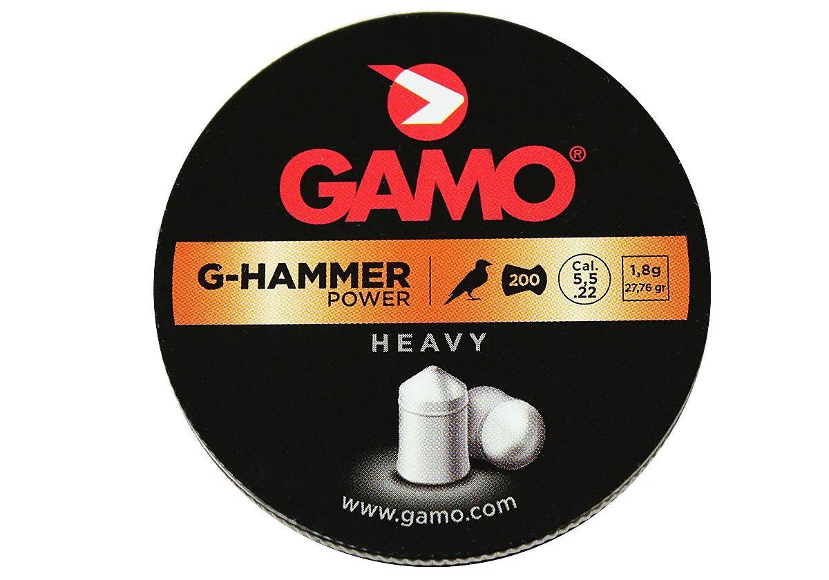 Chumbinho Gamo G-Hammer Energy Super Pesado 5,5mm