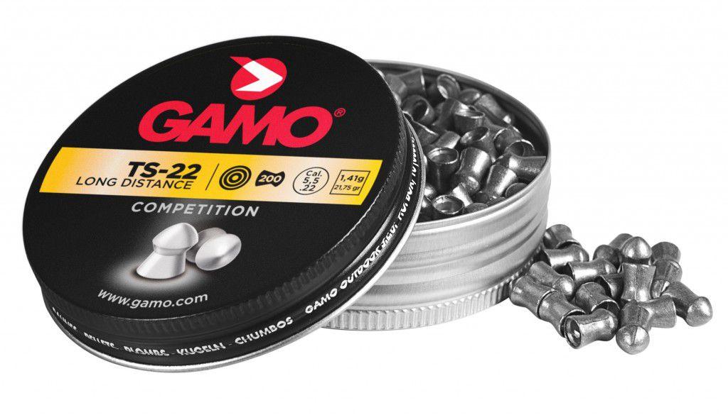 Chumbinho Gamo TS-22 5,5mm LONGA DISTÂNCIA