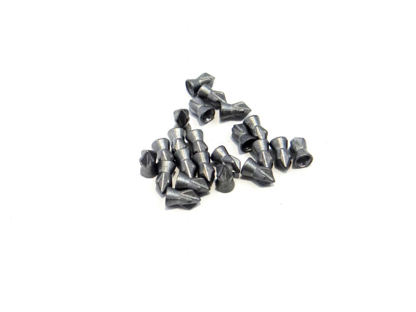 Chumbinho para carabina de pressão Technogun Destruição Bolt 4,5mm