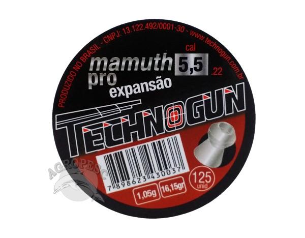 Chumbinho Technogun Mamuth Pro 5,5mm