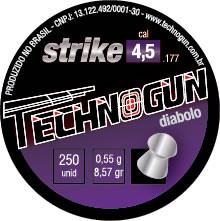 Chumbinho Technogun Strike 4,5mm