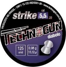 Chumbinho Technogun Strike 5,5mm