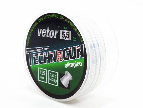 Chumbinho Technogun Vetor Olímpico 5,5mm