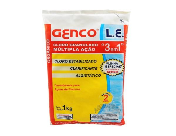 Cloro Genco L.E 3 em 1 - 1kg