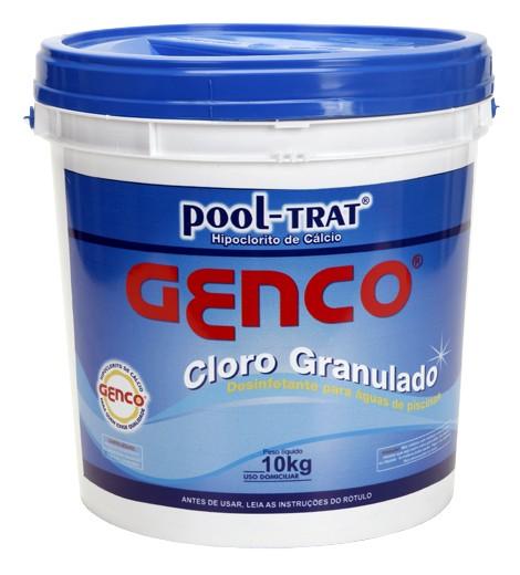 Cloro Genco Pool-trat granulado 10kg