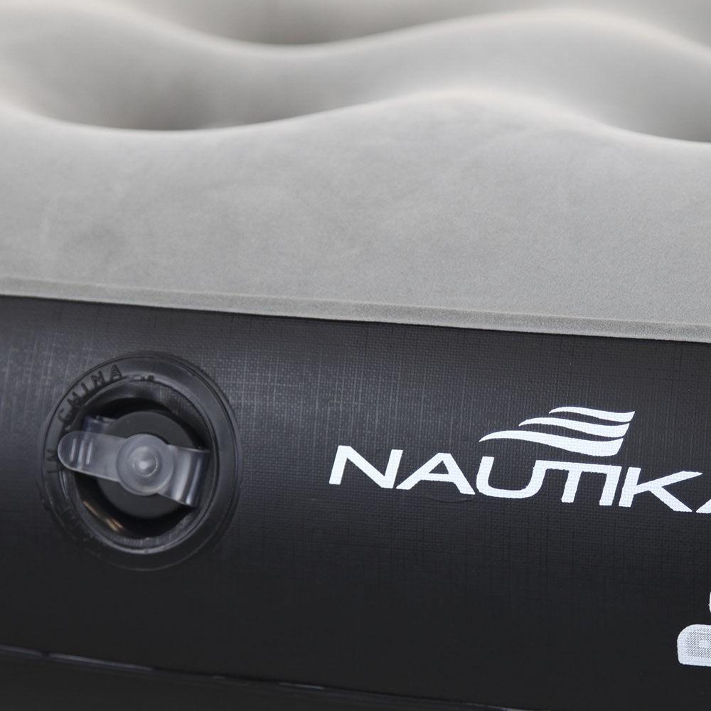 Colchão inflável Nautika Fit Solteiro com inflador embutido