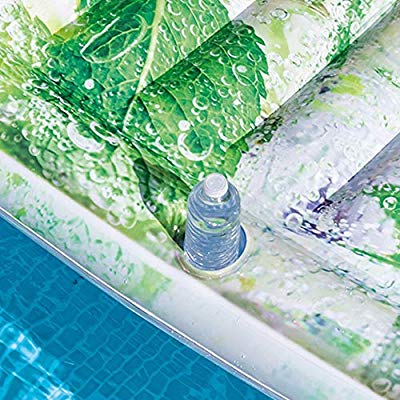 Colchão Inflável boia divertida Para Piscina Caipirinha de limão com porta copo Intex 58778 1,78m x 91cm (Boia Mojito)